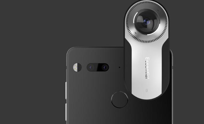 Создатель андроид Энди Рубин представил смартфон Essential Phone