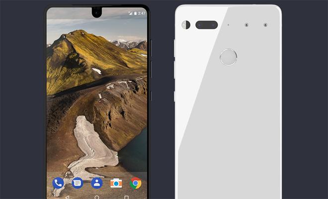 Создатель андроид представил безрамочный смартфон Essential Phone