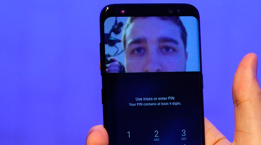 Сканер лица Galaxy S8 одурачили пофотографии